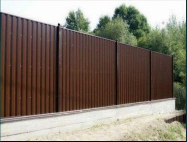 Забор,ворота,калитка,еврозабор,беседка,навес,забор с профнастила