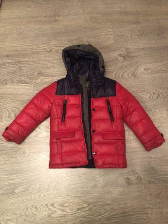 Демисезонная курточка на мальчика, 116см