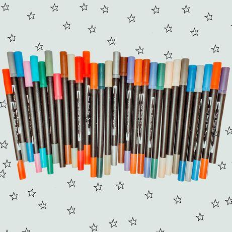 Brush pens- conjunto de 30 canetas