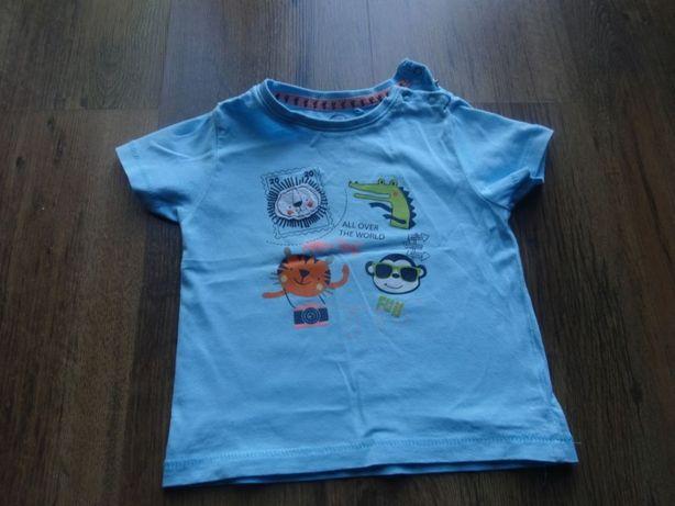 t-shirt bluzka krotki rekaw smyk