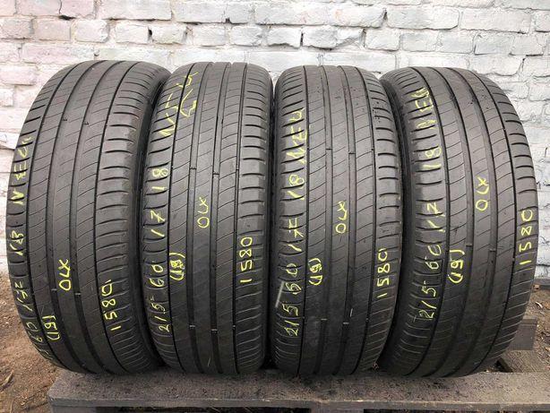 Літні шини 215/60 R17 Michelin Primacy 3 4ШТ 7mm /2019рік