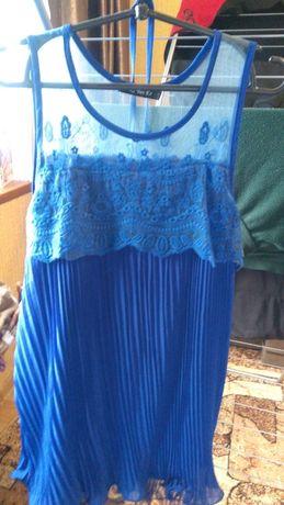 Платье гафре подростковое