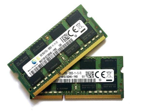 Portátil Memórias RAM DDR3L e DDR4 8Gb 1600/2400/2666Mhz