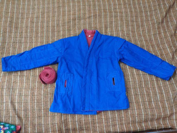 Куртка самбовка двухсторонняя
