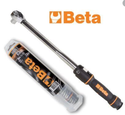 """Chave dinamométrica roquete reversível 1/2"""" BETA 40-200Nm"""