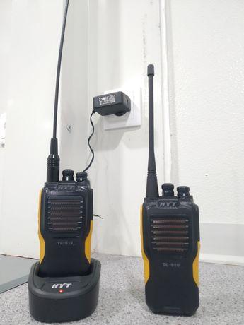 Hytera programação rádios walkie talkie