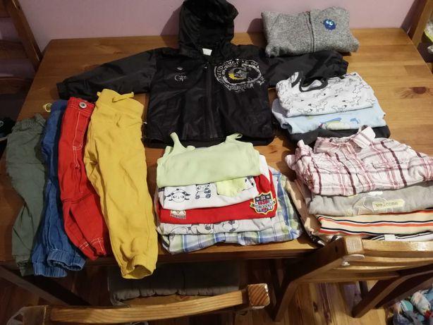 Ubranka dla chłopca rozmiar 86