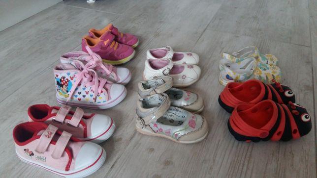 zestaw butów dla dziewczynki 21-26