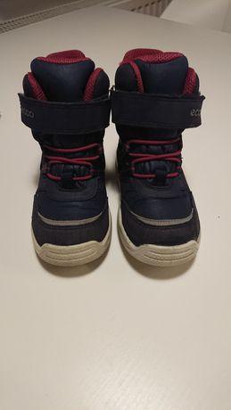 Buty zimowe Ecco roz 25 15,5 cm wkladka