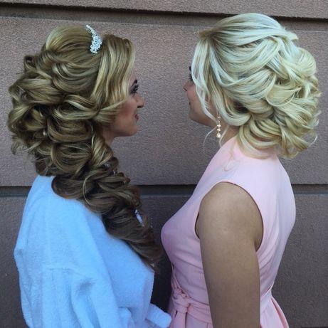 Свадебные вечерние причёски