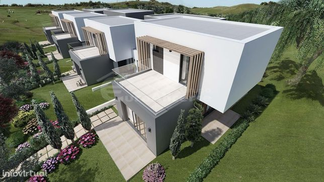 Moradias T2 em construção em Golf Resort no Algarve