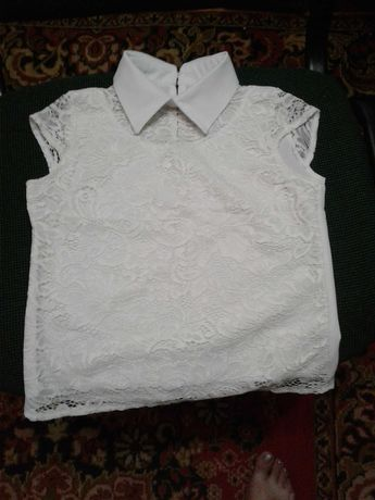 Блуза  для  школьницы