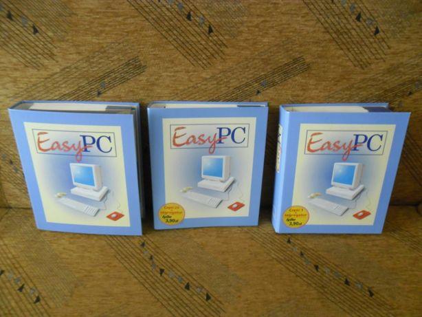 Pełna kolekcje czasopisma Easy PC (3 segregatory)