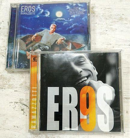 Eros Ramazzotti – 9, Stilelibero. Два диска. Фирменный диск Audio CD