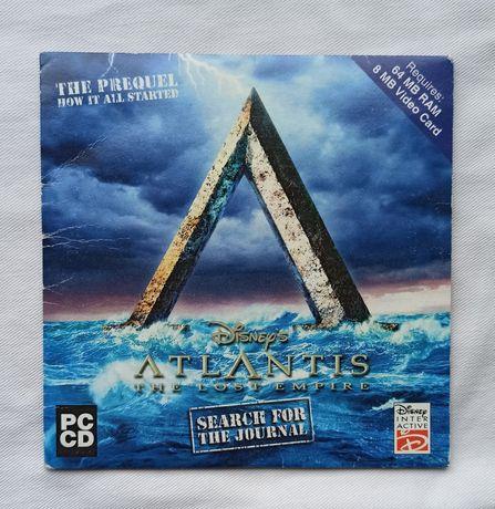 """Atlantis: The Lost Empire - Search for the Journal"" Prequela PC"