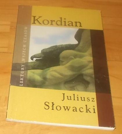 """""""Kordian""""- Juliusz Słowacki- książka nowa, lektura szkolna"""