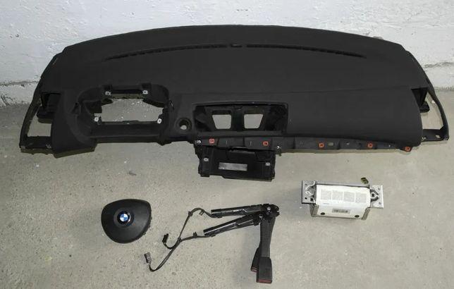 BMW 1 E87 подушка Airbag радиатор торпедо коробка КПП коллектор