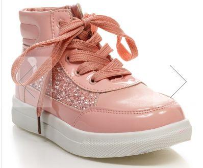 Кроссовки, ботинки розовые