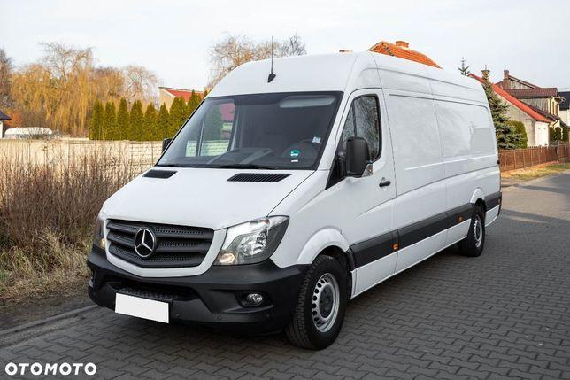 Mercedes-Benz Sprinter 906 316 CDI  2.2 163KM 906 Maxi L3 H2 SERWISOWANY W ASO Navi Tempomat Klimatyzacja