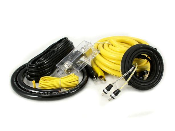 Hollywood CCA-20 zestaw kabli do wzmacniacza i tuby w aucie
