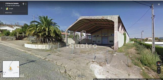 Pavilhão industrial com 2100 m.  - S. Jorge de Selho