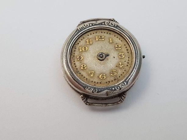 Часы Laco, Германия, 40-е годы. Серебро. Под реставрацию.