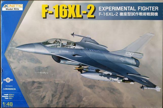 Kinetic F-16XL-2 1:48 kit modelismo colecção