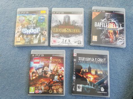 Lord of The Rings, Battlefield 3, Lego, The Shoot ps3