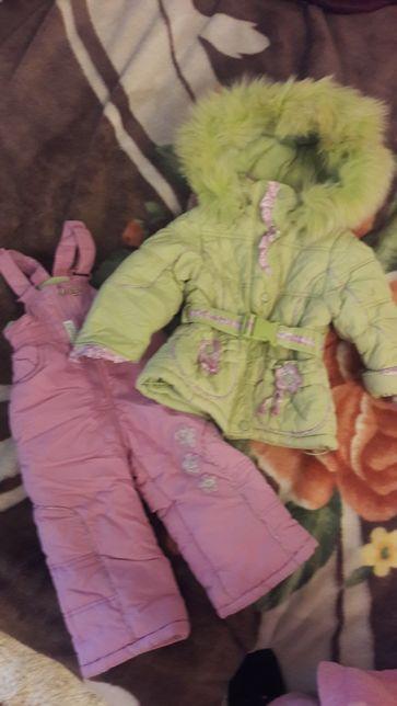 Зимний комплект куртка+штаны