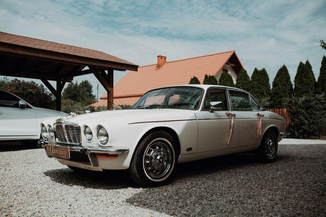 Auto do Ślubu JaguarXJ Piękny Klasyk