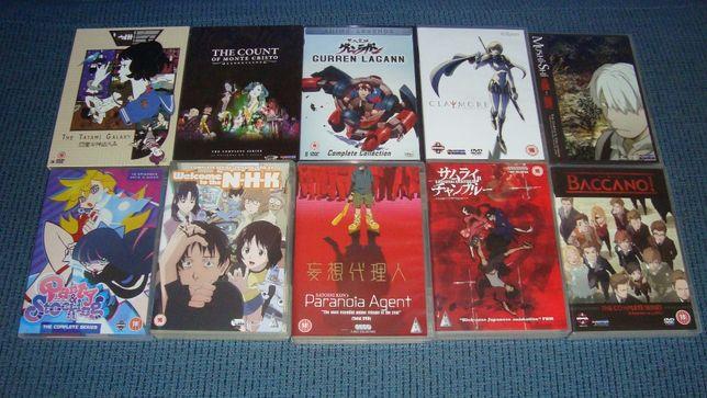 Vendo séries anime em DVD