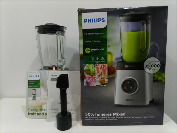 Liquidificador PHILIPS HR3652/00_Tecnologia ProBlend 6 3D