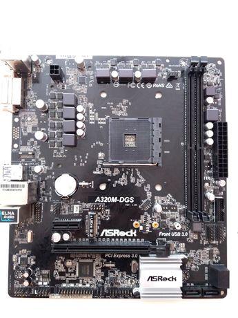 Płyta główna ASRock A320M-DGS AM4 + Chłodzenie Procesora