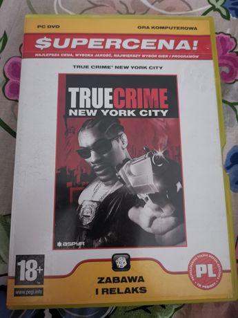 Truecrime new york city gra komputerowa PC DVD