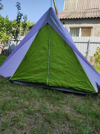 Палатка 2х-3-х местная универсальная для походов, рыбалки, туризма