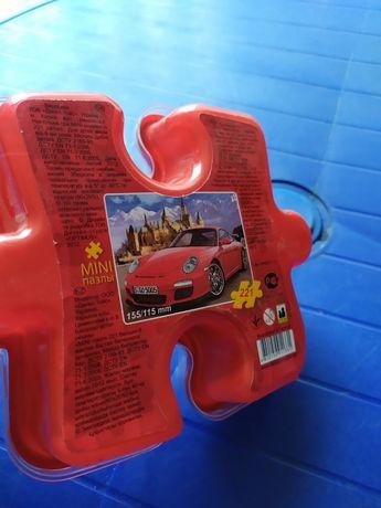 Пазли для хлопчика машина коробка міні пузлі для мальчика