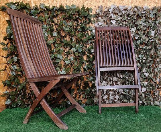 Cadeiras Rebatíveis em Madeira Exótica - RIVER HAN