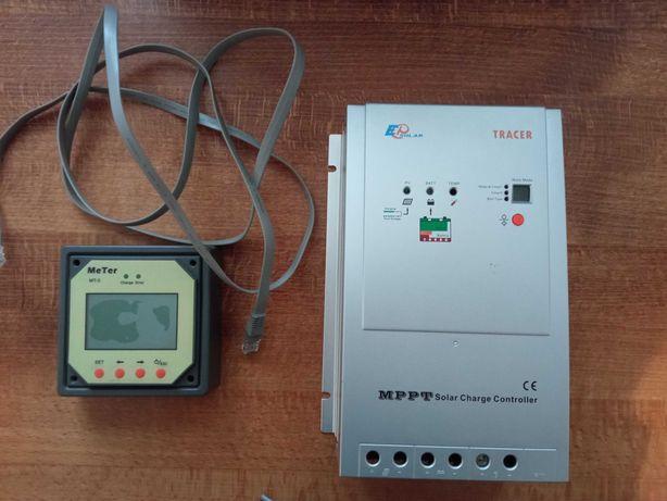 Solar regulator ładowania MPPT Tracer 3215RN 30A kamper przyczepa