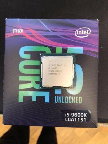 Гарантийный Intel Core i5 5GHZ 9600K 6 ядер LGA 1151 v2