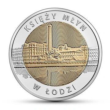 5 zł 2016 - Księży Młyn w Łodzi Głuchołazy - image 1