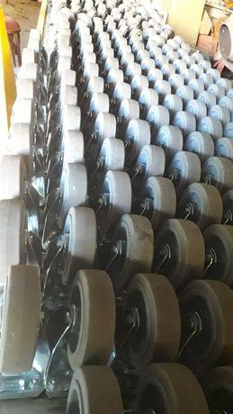 Rodas multiusos fixas ou orientáveis com travão