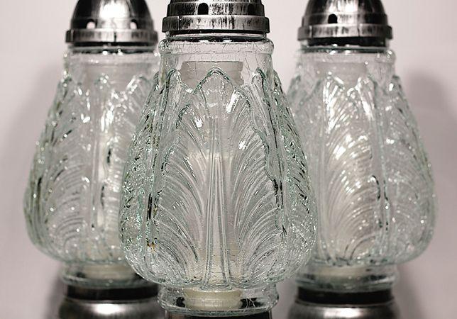 Znicz szkło mrożone kryształ max