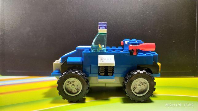 Машинка лего (полиция), Детский конструктор, Игрушки, Lego
