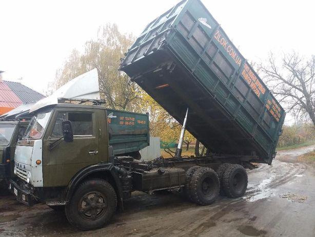 Вывоз объёмного мусора.! КАМАЗ 15-30 кубов. Борта 2 м.! Свои Грузчики.