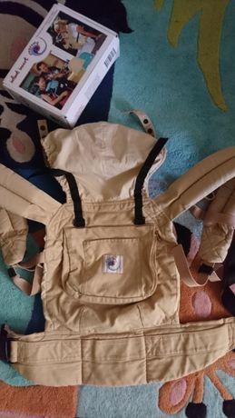 Эрго рюкзак переноска ERGO baby carrier Original с вкладышем от 0 мес