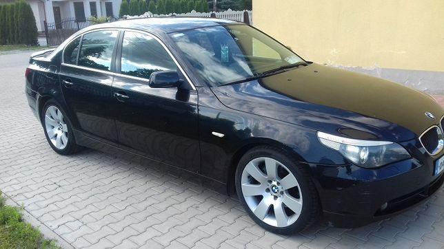 BMW e60 na części, M54 silnik 2.2i Automat BLACK SAPPHIRE 475\9