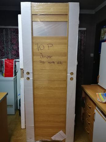 Drzwi łazienkowe 70 prawe, Jasper, drzwi z podcięciem