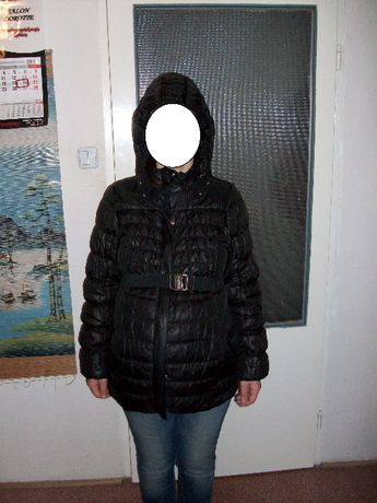 ciepła zimowa kurtka ciążowa H&M Mama r. M