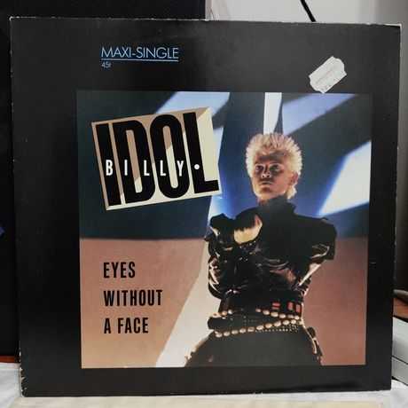 Billy Idol - eyes without a face - maxi single - winyl - stan NM