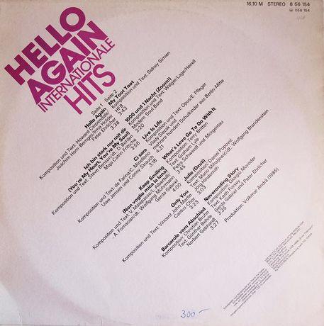 HELLO AGAIN Internationale hits - album LP vinyl 33